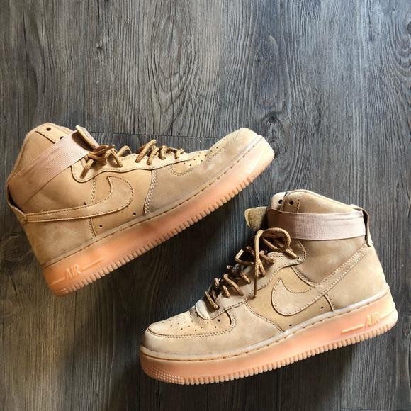 Nike Women s Air Force 1 Wheat High Tops size 8. M 5a34005945b30c52630073f7 f8781157e4